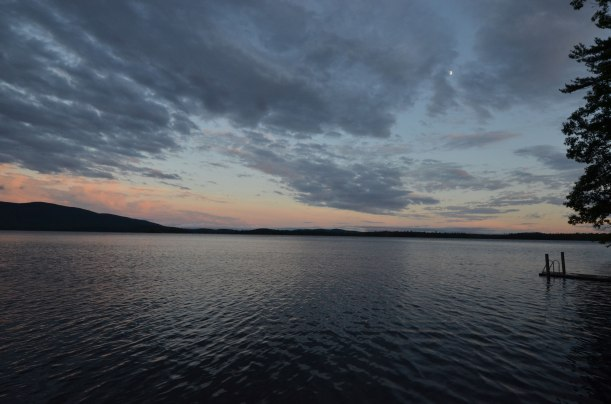 Squam Lake sunset